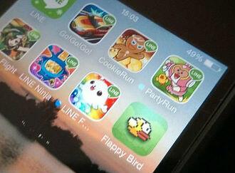 iPhone gaming apps screenshot