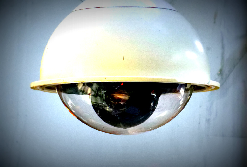Image is a dome camera