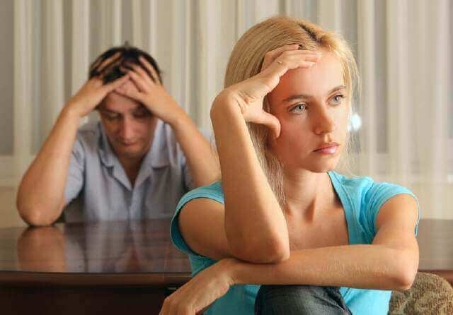Scheidung streitig