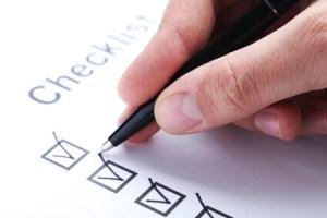 Checkliste Scheidung
