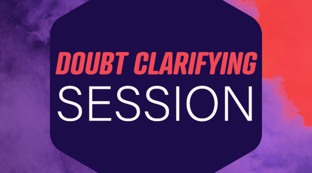 2IIM Doubt Clarifying Session