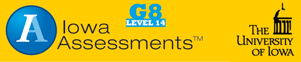 Grade 8 Iowa Assessments