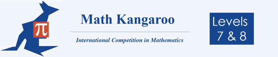 Math Kangaroo 7-8 Banner