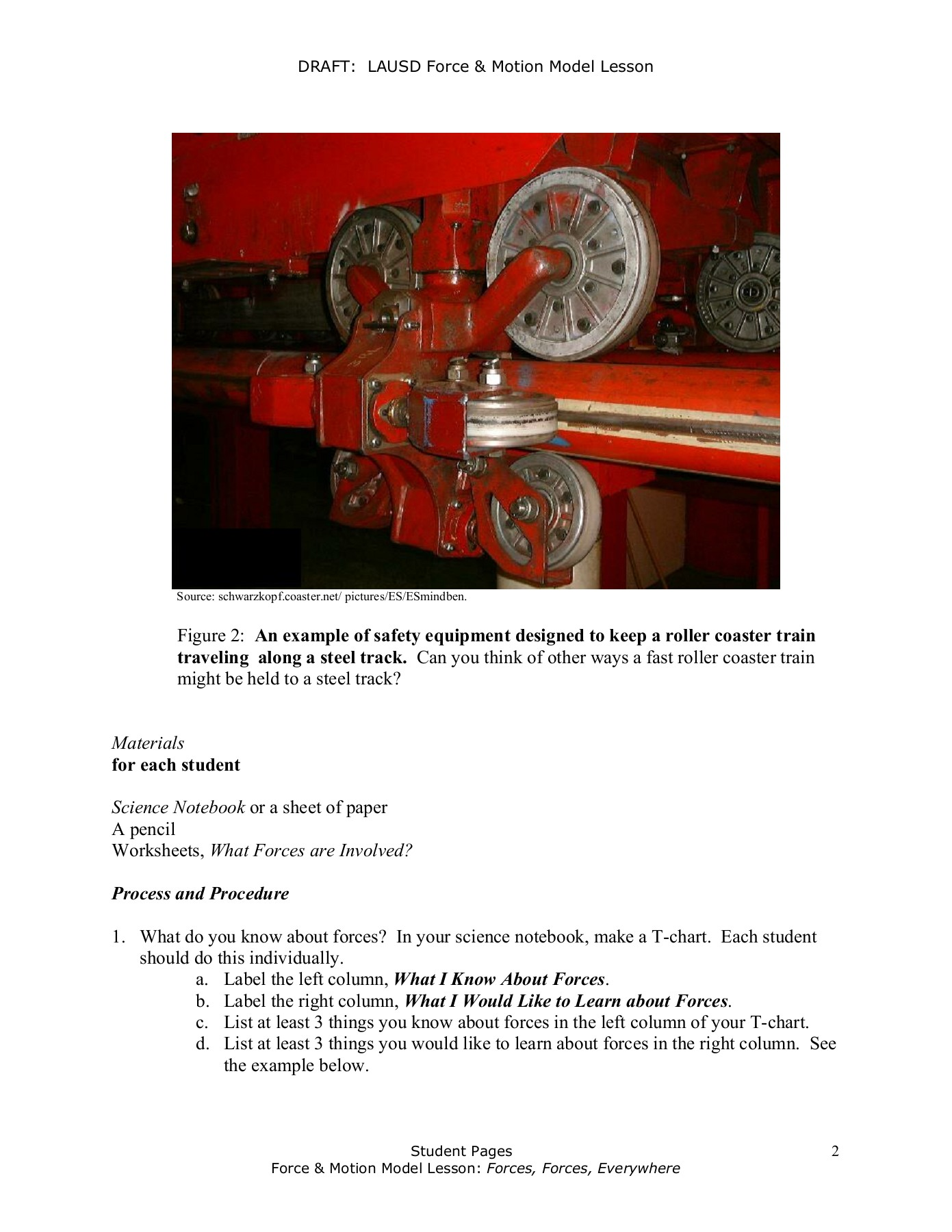 Opposing Friction Physical Science Worksheet
