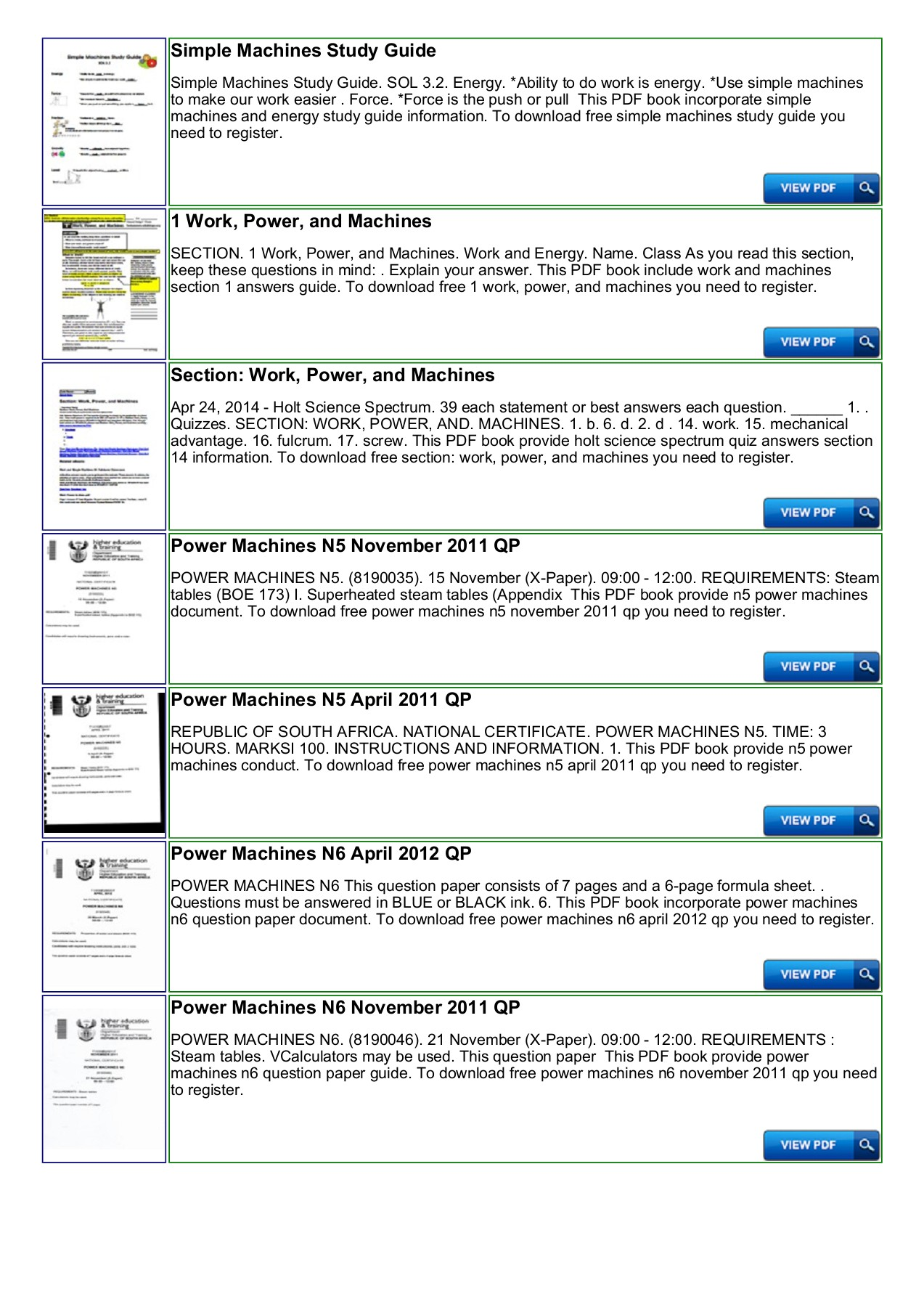 40 Most Popular Work Power And Simple Machines Worksheet