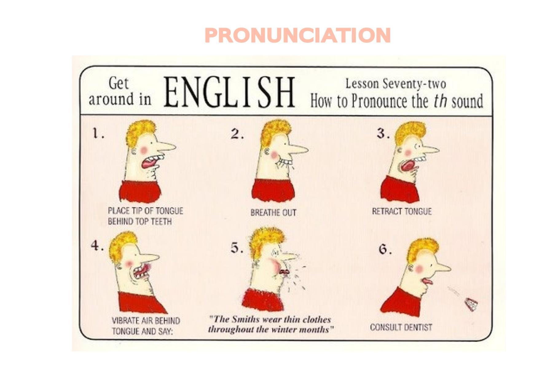 Pronunciation Thin