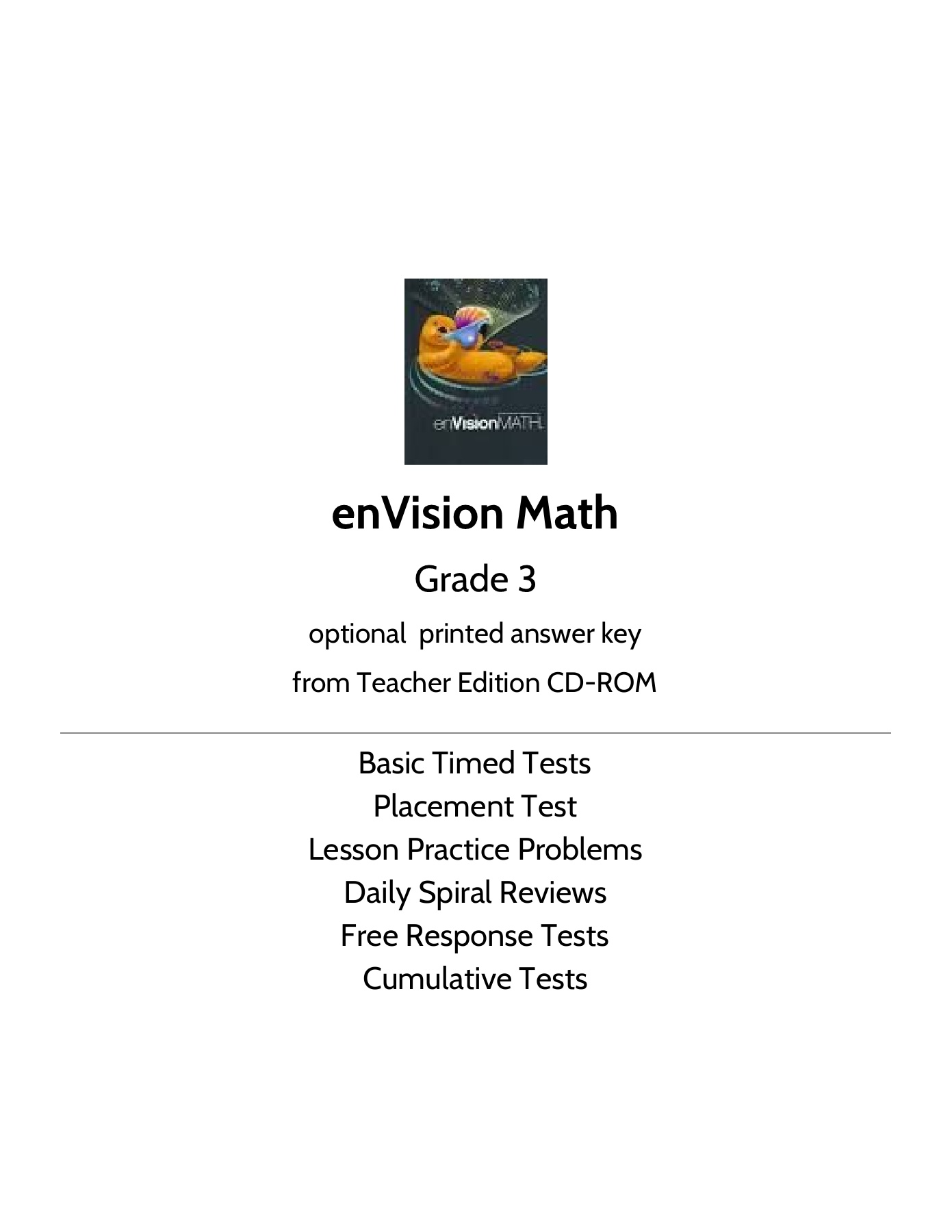 5th Grade Math Homework Book Envision 19 5