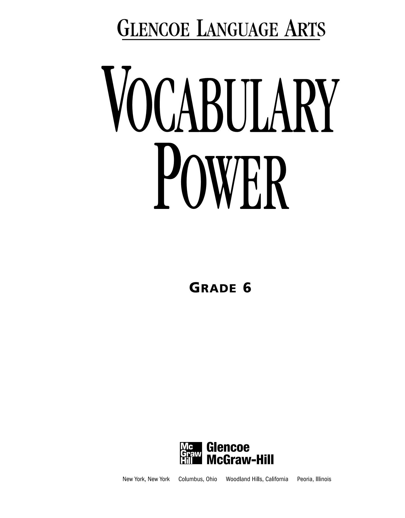 Bestseller Glencoe California Mathematics Grade 6 Workbook