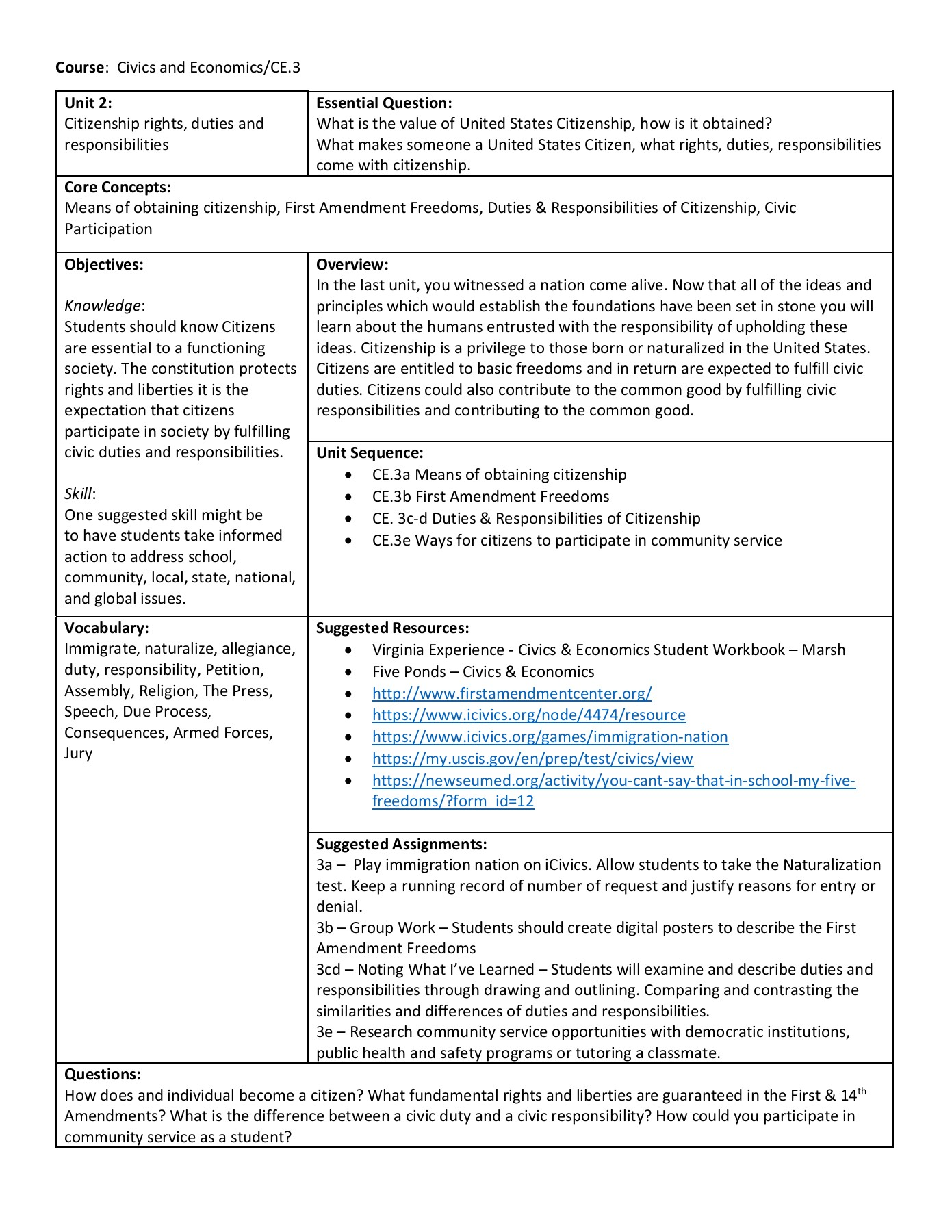 The Great State Icivics Worksheet Answers