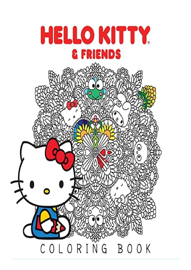 PDF] Hello Kitty & Friends Coloring Book BOOK ONLINE
