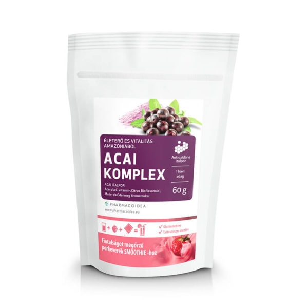 Pharmacoidea Acai Komplex Kapszula (30db)