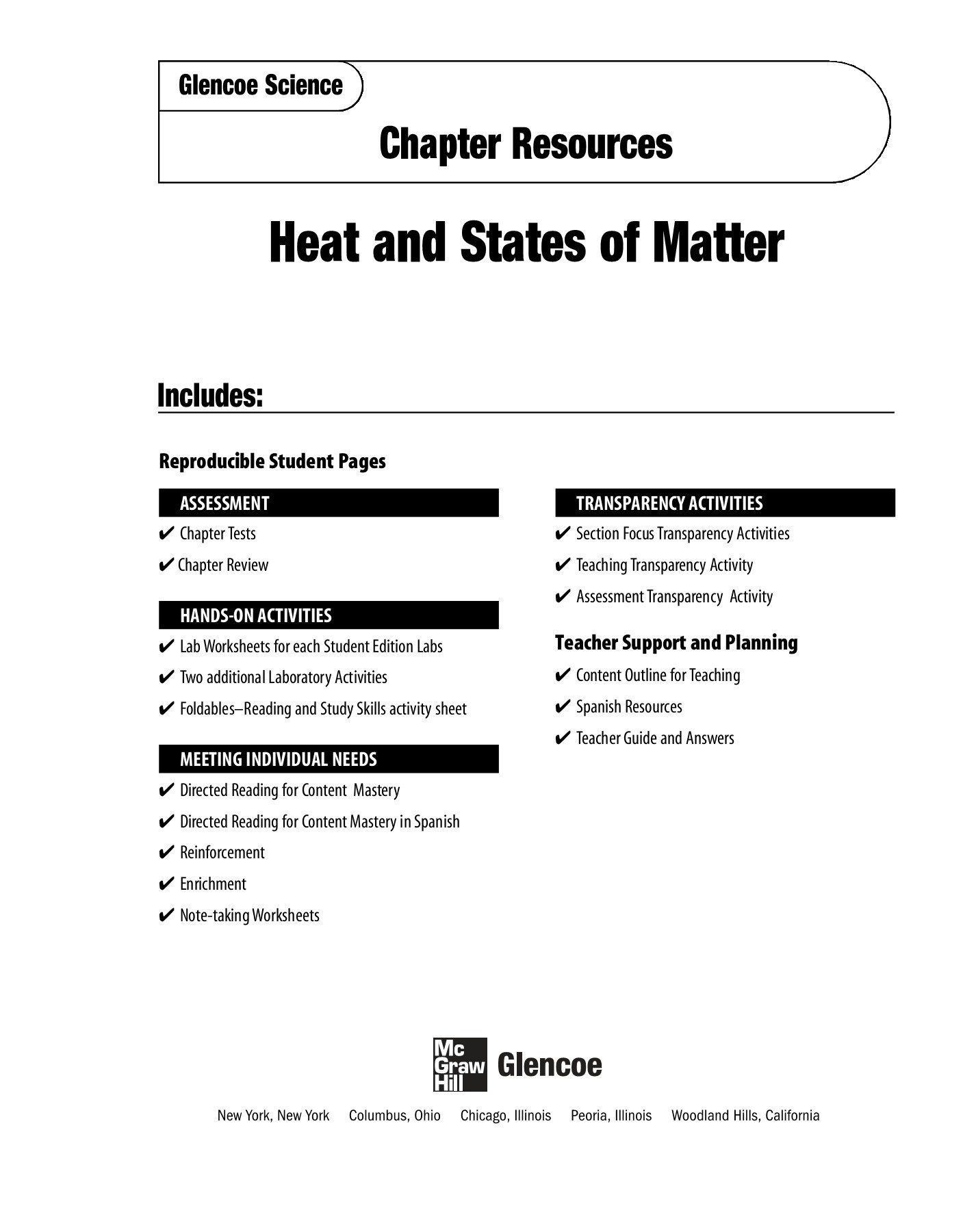 Thermal Energy Temperature And Heat Worksheet Answers