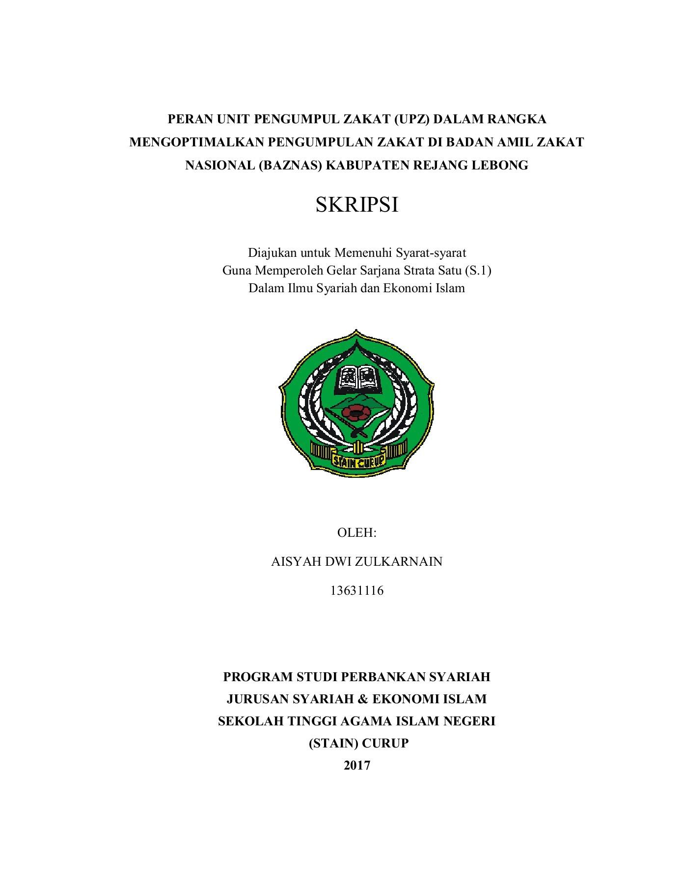 17 Judul Skripsi Ekonomi Islam Syariah Download