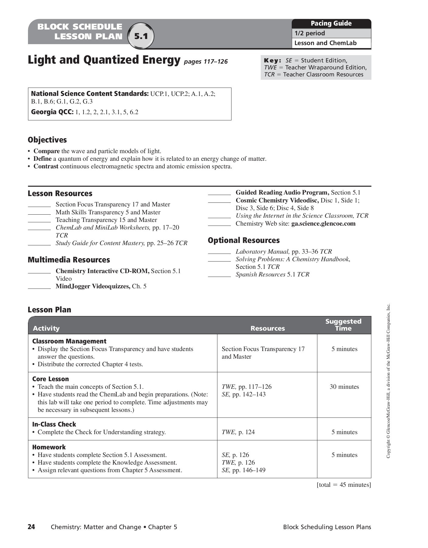 Printables Of Chemistry Worksheet Electrons In Atoms Answers