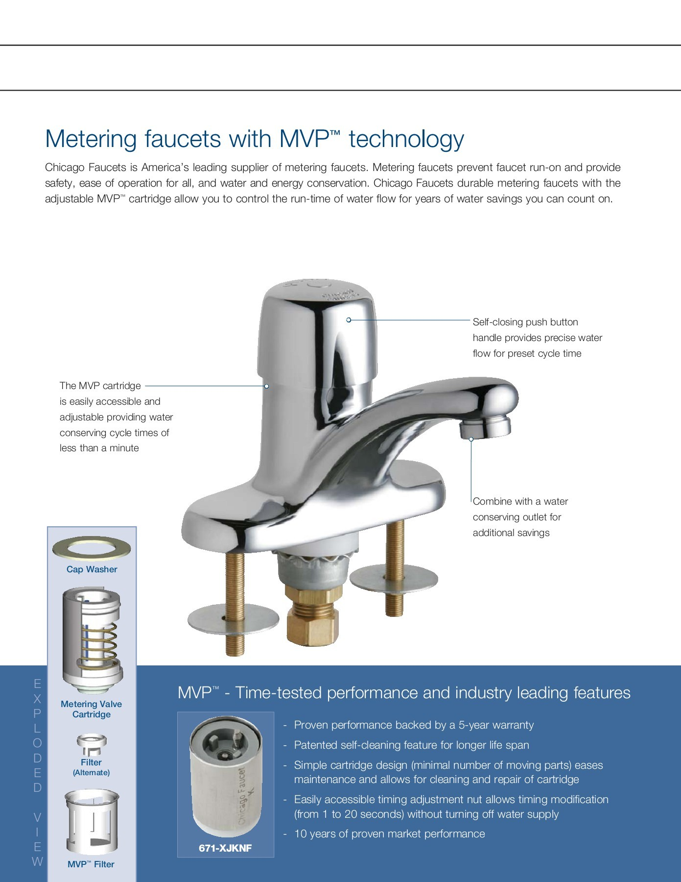 Metering Made Simple Chicago Faucet Pages 1 4 Text