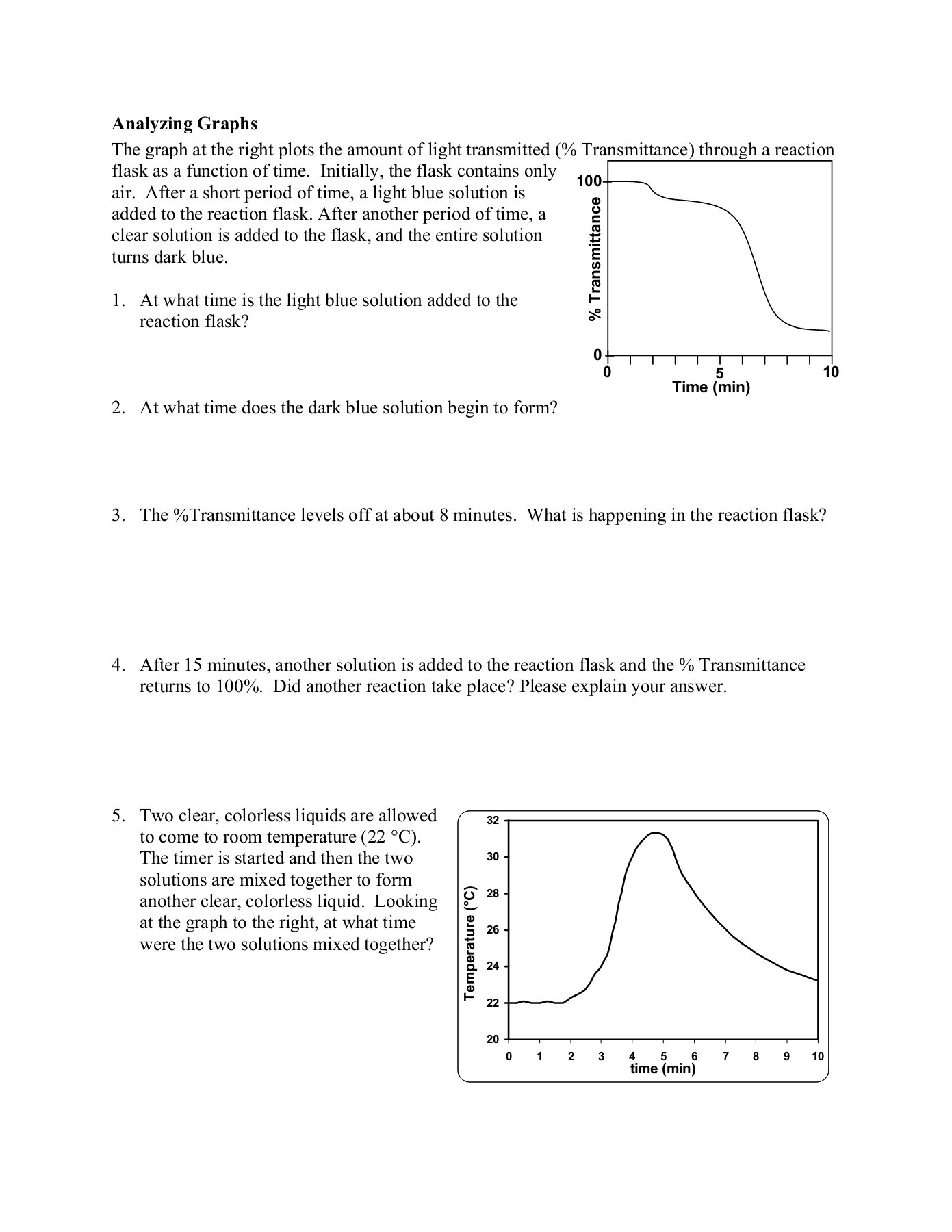 Physical Vs Chemical Changes Worksheet Answers