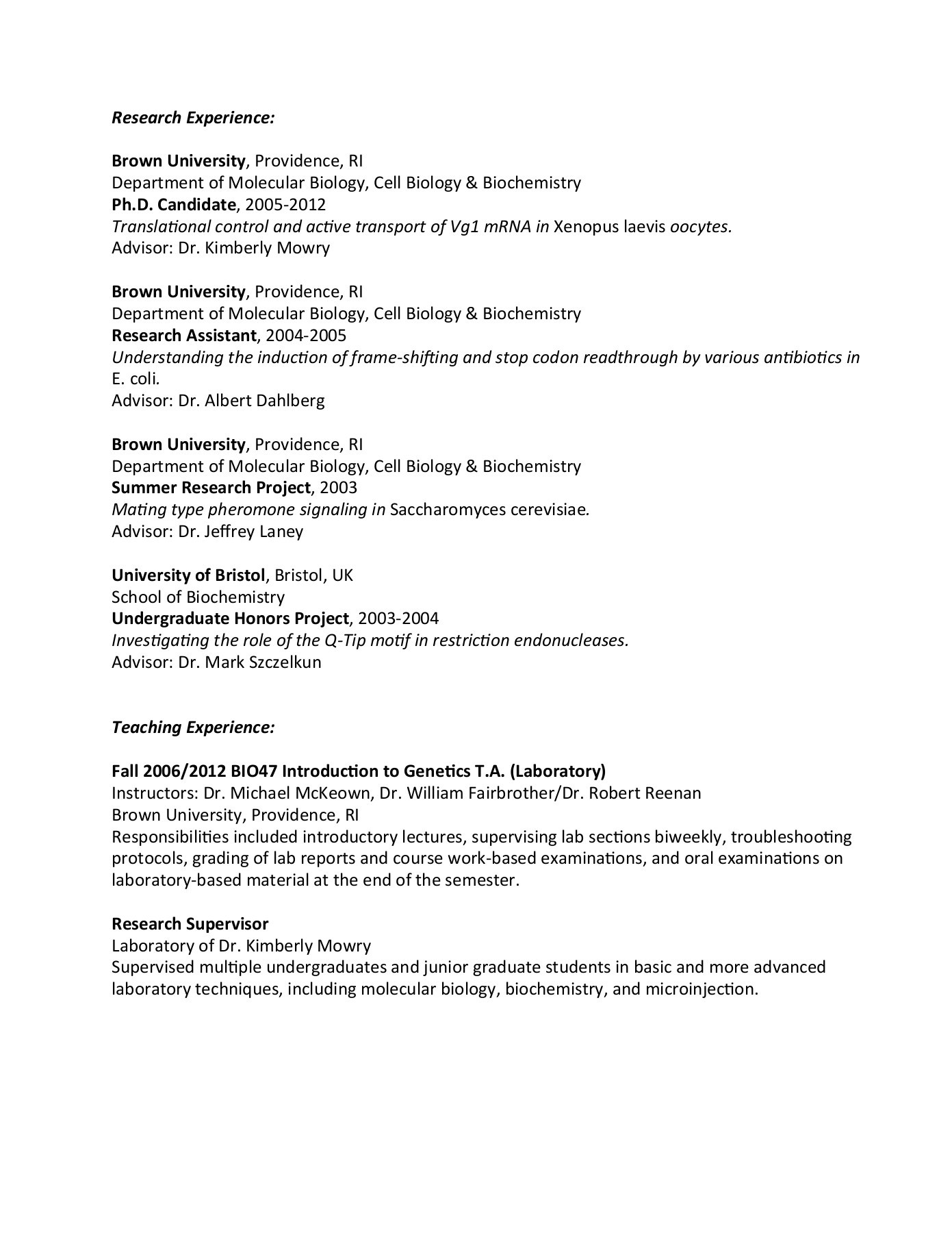 Basic Laboratory Techniques Lab Report Basic Laboratory
