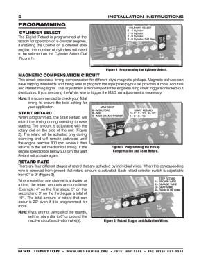Msd 8975 Wiring Diagram  Wiring Diagram Schematics