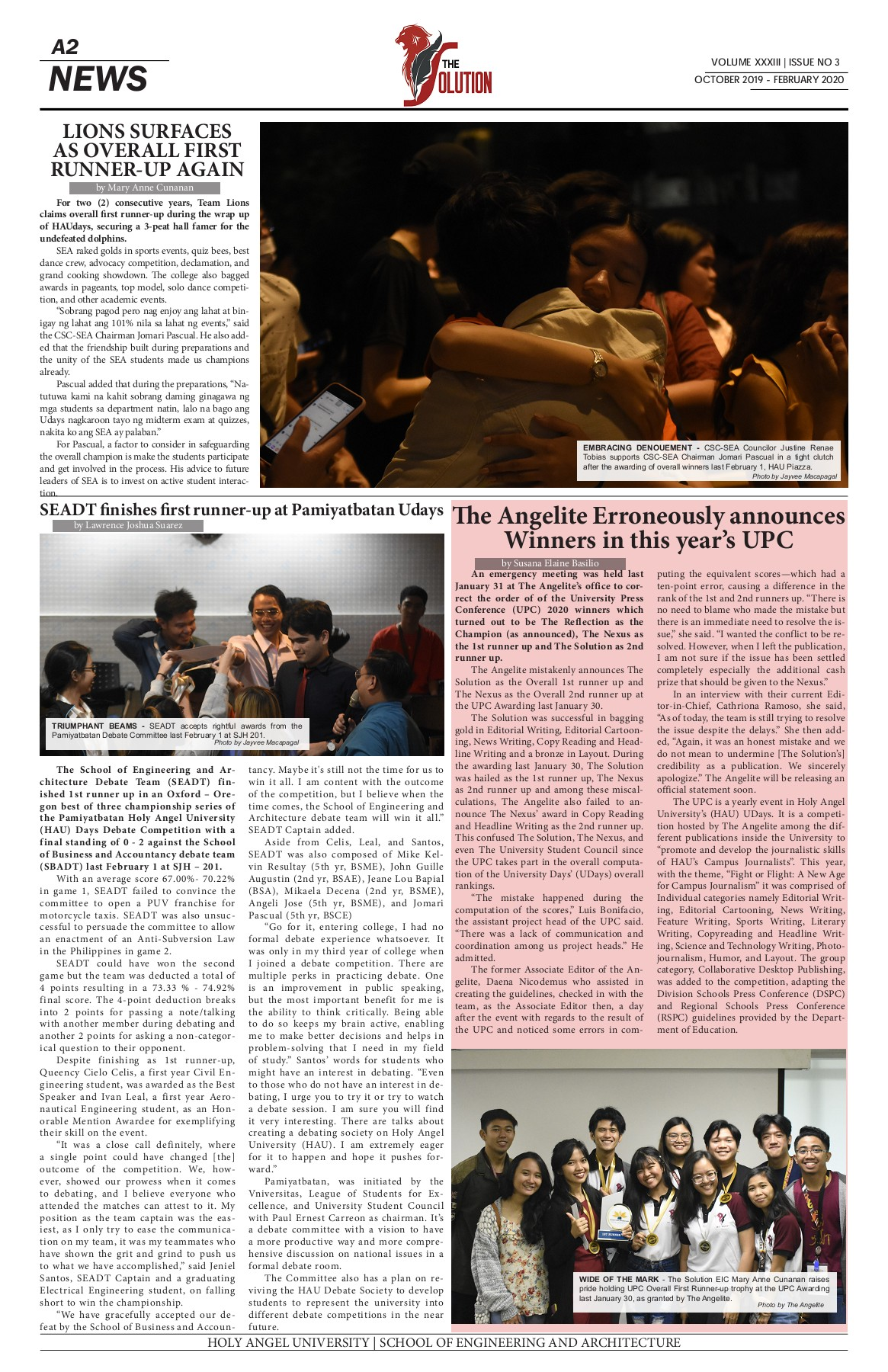 Volume Xxxiii Issue No 3 Pages 1 16 Text Version Fliphtml5