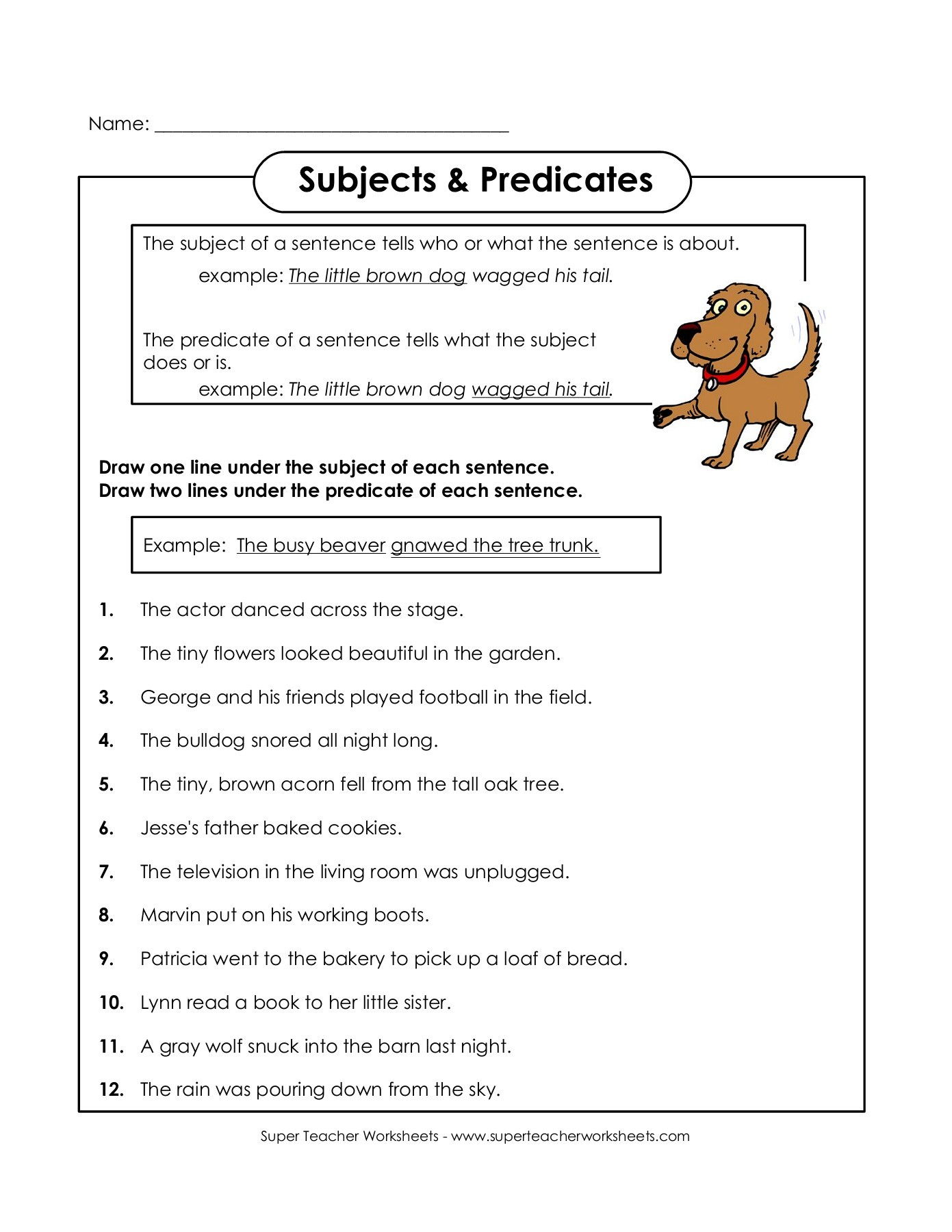 Printables Of Superteacherpages