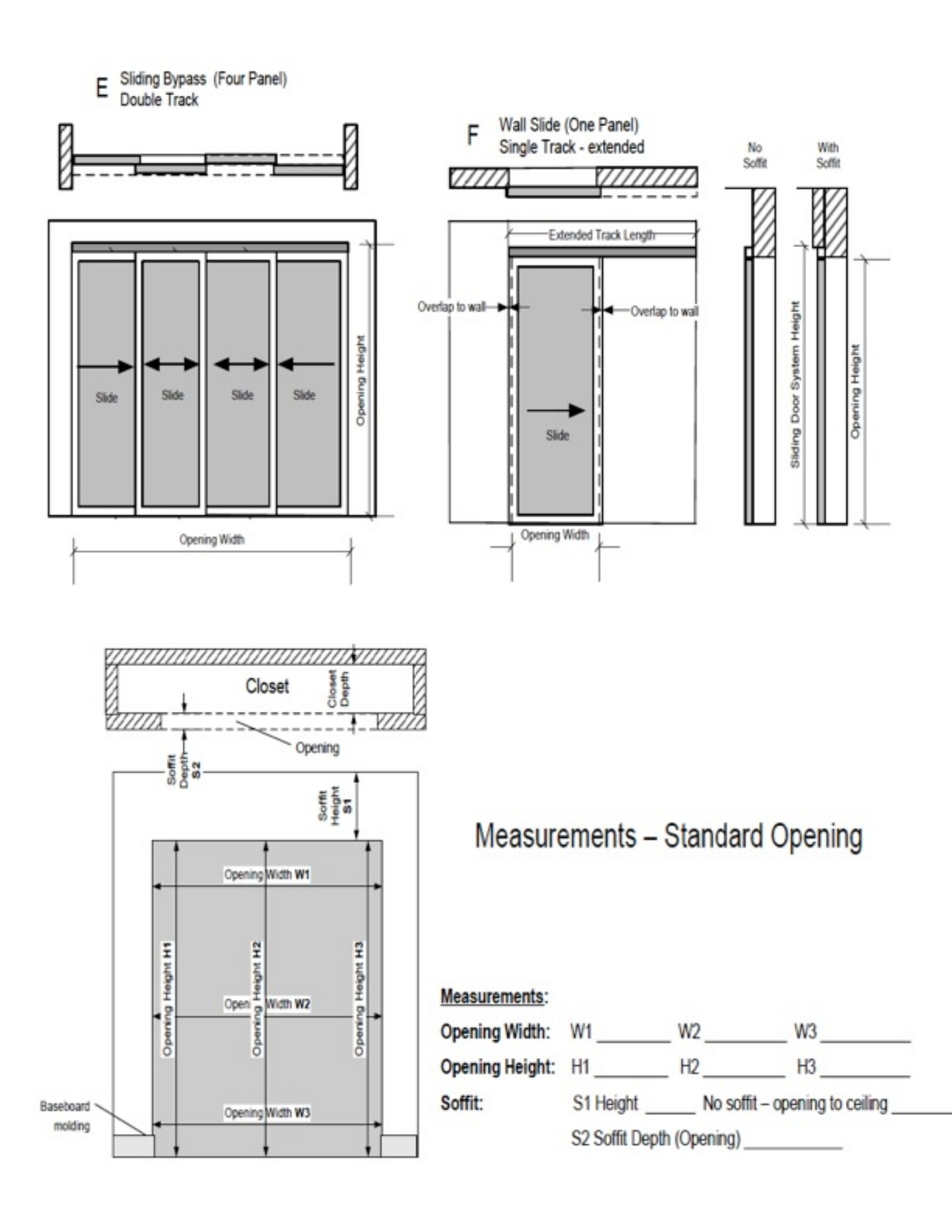 Instalation Instruction For Sliding Doors Pages 1 6 Text