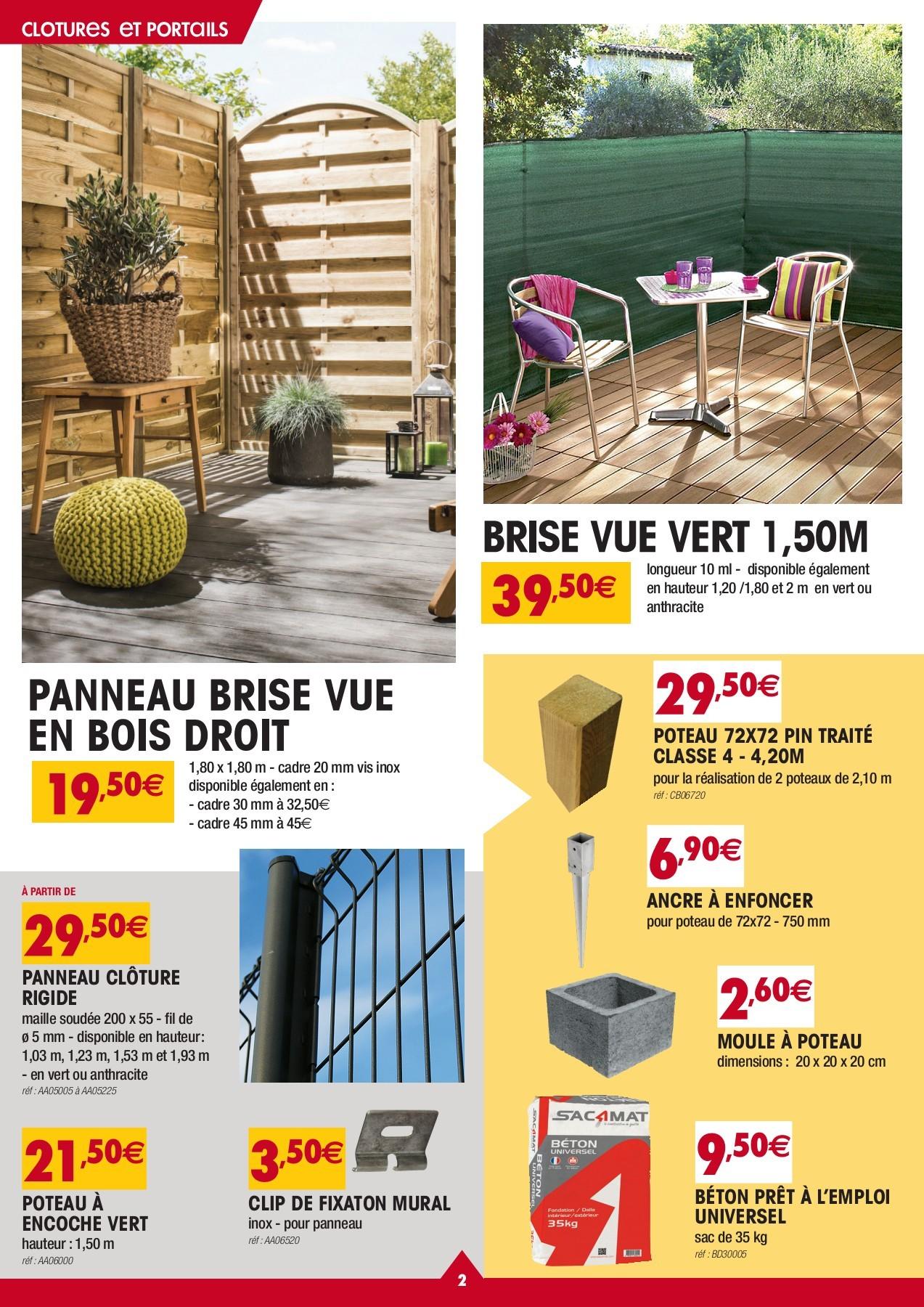 Catalogue Gedimat Special Exterieur Du 29 Avril Au 19 Mai Pages 1 8 Flip Pdf Download Fliphtml5