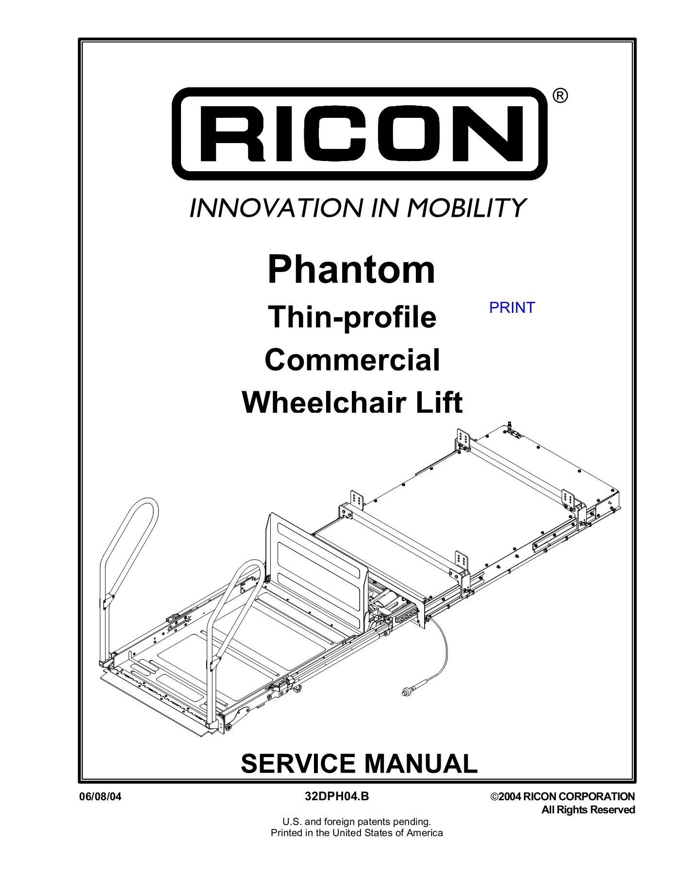 Ricon Lift Wiring Diagram