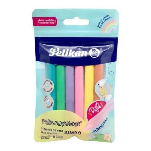 PeliCrayones Pastel Triangular Jumbo