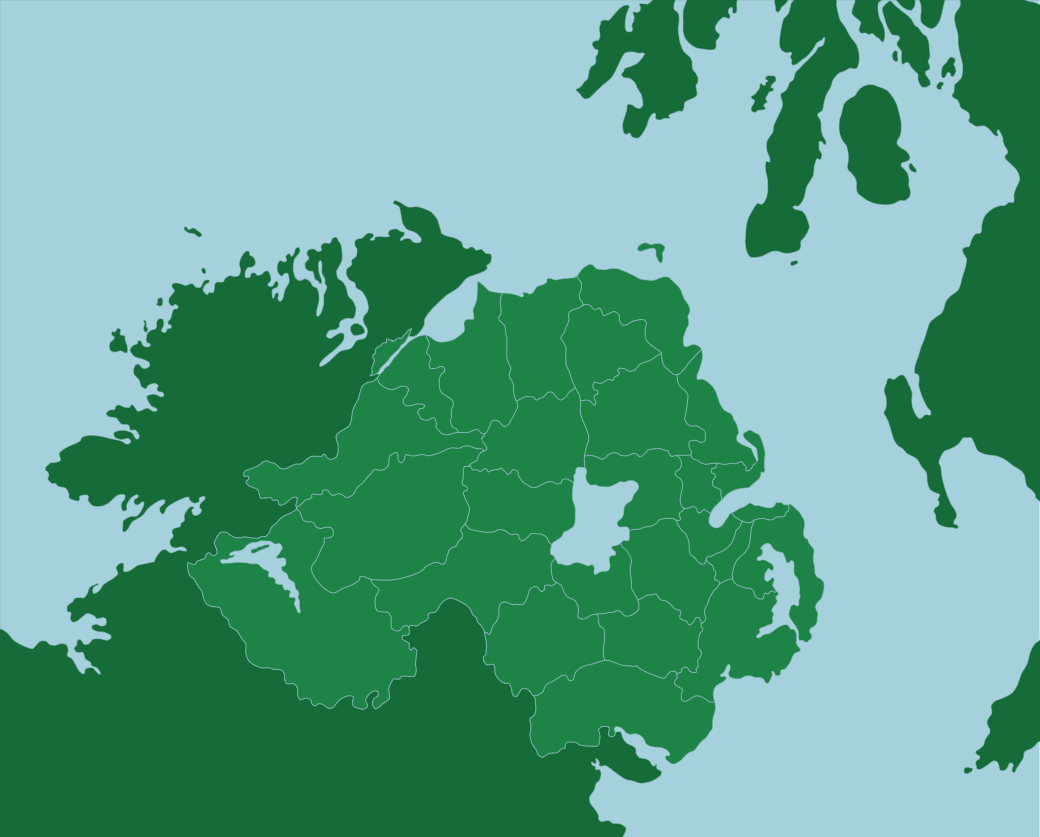 Uk Northern Ireland District Council Areas