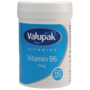 Valupak Vitamin B6 10mg