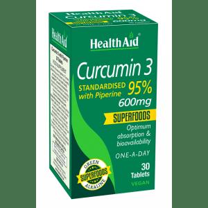 HealthAid Curcumin 3 600mg