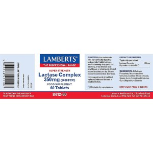 Lamberts Lactase Complex 350mg