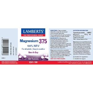 Lamberts Magnesium 375