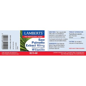 Lamberts Saw Palmetto 160mg