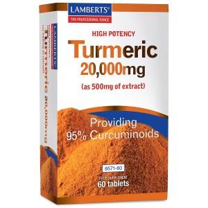 Lamberts Turmeric 20,000mg
