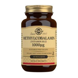 Solgar Methylcobalamin (Vitamin B12) 1000mcg