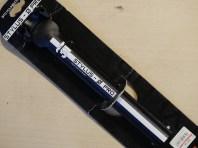 TTT ( スリーティー ) シートポスト STYLUS 0 PRO ( スタイラス 0 プロ ) ブラック / ホワイト ライン 31.6/280mm