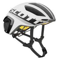 【ワイズロードオンライン限定特価】SCOTT ( スコット ) ヘルメット HELMET CADENCE PLUS ブラック ホワイト L☆ほかのサイズもございます