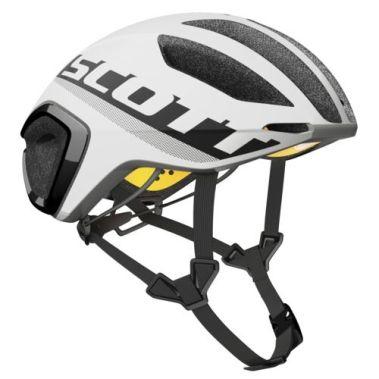 【ワイズロードオンライン限定特価】SCOTT ( スコット ) ヘルメット HELMET CADENCE PLUS ブラック ホワイト M☆ほかのサイズもございます
