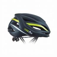 rh+ ( アールエイチプラス ) ヘルメット AIRXTRM ( エアーエクストリーム ) マット ブラック / イエロー フルオ L/XL