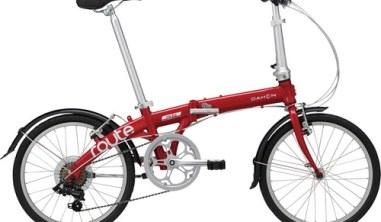 DAHON ( ダホン ) 折りたたみ自転車 ROUTE ( ルート ) ルビーレッド