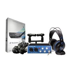 EXM205025-01 PreSonus AudioBox Stereo Recording Kit