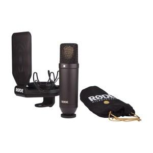 EXM205029-01 Πακέτο μικροφώνου μαύρο Rode NT1-Kit