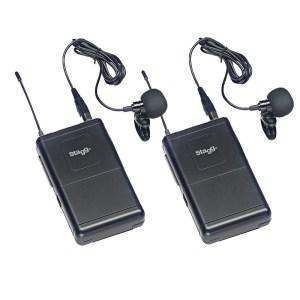 H10ST00011-Σετ ασύρματα μικρόφωνα πέτου σταθερής συχνότητας STAGG SUW-50-LL-FH | Online4U