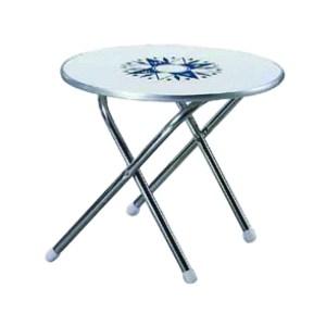 HAC204004-Τραπέζι στρογγυλό πτυσσόμενο Eval 03982-2