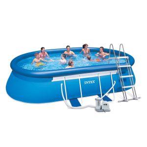 HGP552019-01 Φουσκωτή πισίνα Intex Oval Frame 28194