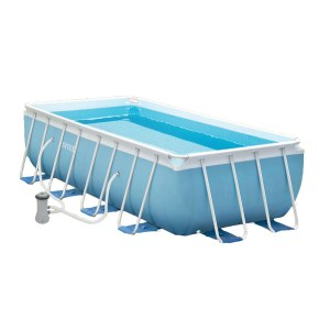 HGP552021-01 Παραλληλόγραμμη πισίνα με μεταλλικό σκελετό Intex Prism 28316
