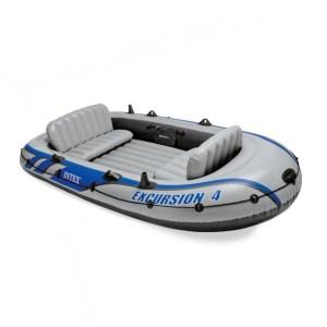 HAP950011-Φουσκωτή βάρκα 4 ατόμων INTEX excursion 4set 68324 | Online 4U Shop