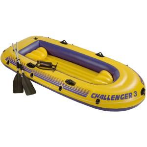 HAP950014-Φουσκωτή βάρκα 3 ατόμων INTEX 68370 Challenger 3 set | Online4uShop