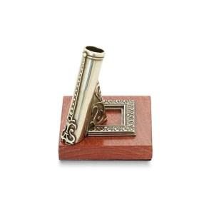 EDA751077-Ξύλινη βάση πένας με σκάλισμα Bortoletti PPE02 | Online 4U Shop